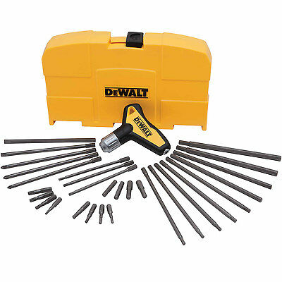 Dewalt DWHT70265 31 Piece Ratcheting T-Handle Hex Key Set