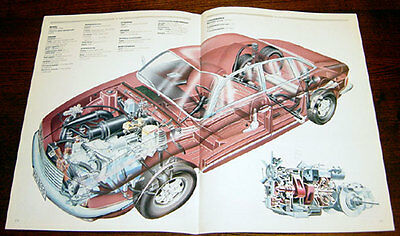 NSU Ro80 - technical cutaway drawing
