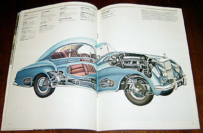 Bentley Continental - technical cutaway drawing