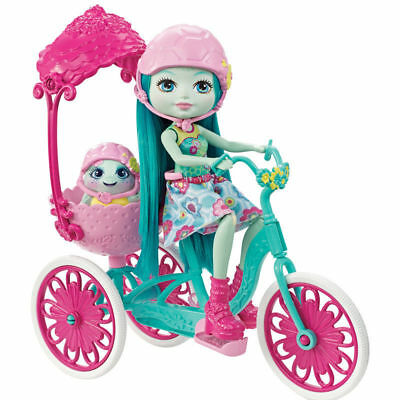Enchantimals Built for Two Taylee Turtle Doll with Tricycle Playset Play Set