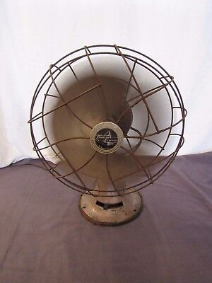 Vtg Emerson Electric 3 Speed Oscillating Fan 77646 SL Power Tested