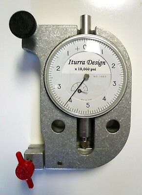 Precision Bandsaw Blade Tension Gauge Gage Meter for Band Saws Iturra Design New