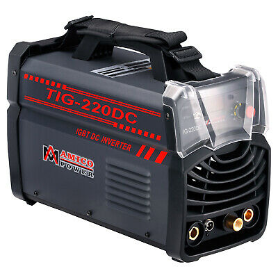 220 Amp TIG-Torch Stick ARC DC Welder 230V/110V Dual Voltage Welding New