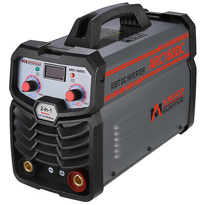 Amico 140 Amp Stick ARC MMA Welder IGBT Inverter DC Welding Machine New