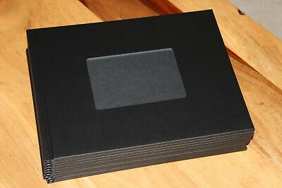 10 Unibind Black with Window Photobook Cover Lot