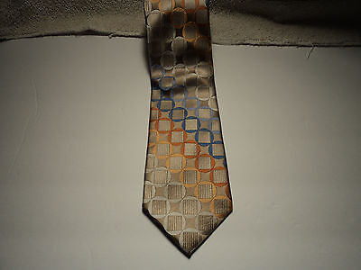 Men's 100% polyester tie by Adolfo extra long