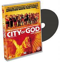 City Of God (DVD, 2003) new and sealed  freepost