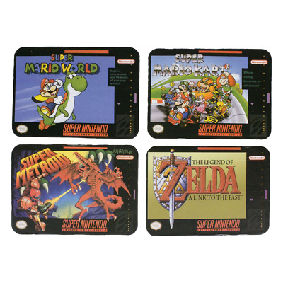 Nintendo - SNES Shaped Cork Coasters Set of 4 - Loot - BRAND NEW
