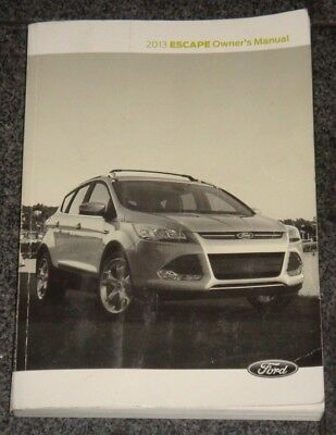 2013 ford escape owners manual 24 99 picclick rh picclick com 2013 ford escape owner's manual 2012 ford escape owner manual