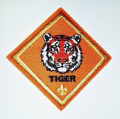 Cub Scout TIGER RANK Award Merit Badge Patch - Boy Scout BSA