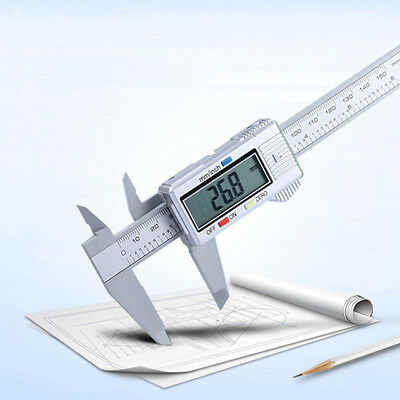 "Plastic 150MM 6"" Digital Electronic Vernier Caliper Gauge Micrometer Sales"