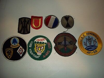 Wwi Wwii Korean War Vietnam Us Army Patch Lot #119