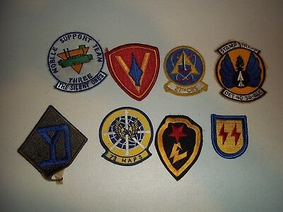 Wwi Wwii Korean War Vietnam Us Army Patch Lot #120