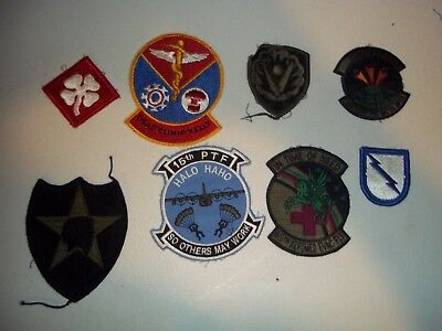Wwi Wwii Korean War Vietnam Us Army Patch Lot #121