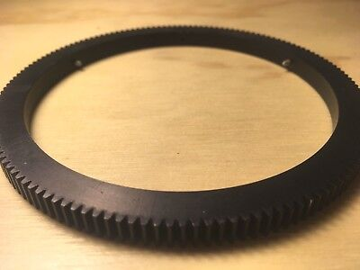 2 Arri 32 pitch gear follow focus rings for Lomo lenses (98mm int /117mm ext)