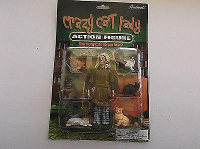 Crazy Cat Lady Action Figure by Accoutrements