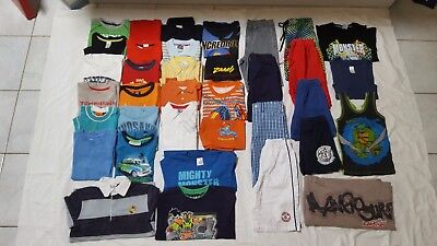 Boys Size 6 Bulk Mixed Clothes 36 items