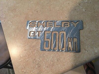 Shelby GT 500KR  logo Metal Man Cave/Garage Wall Art