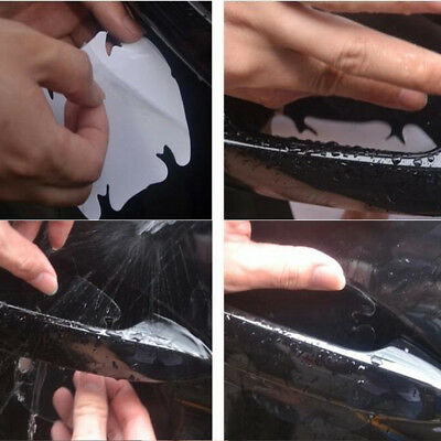 Invisible Clear Car Door Handle Protector 4pcs Anti-Scratch Guard Cover Sticker