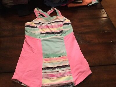 ivivva girls tank top size 10