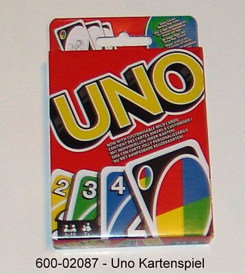 600-02087 - UNO Card Game The Original Dissection Puzzle familienkartenspiel