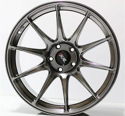 "18"" New Xxr527 Chromium Black New Wheels And Tyres Xxr Stretched Wheels"