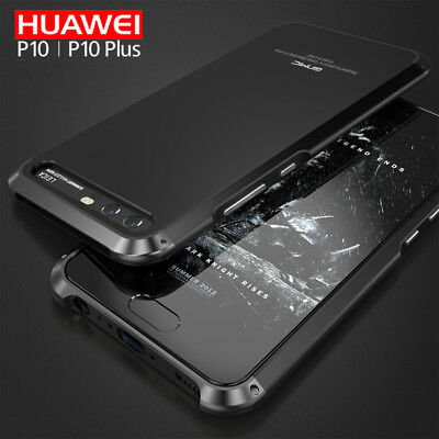 Ginmic Shockproof Metal Bumper Hybrid Case Cover For Huawei P10/Honor 9/Mate 10