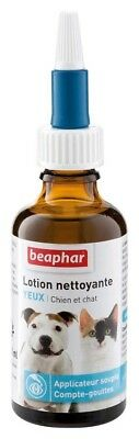 Beaphar Cleansing Lotion For Eye Care Cats Dogs 50 ml Free And Fast Delivery N