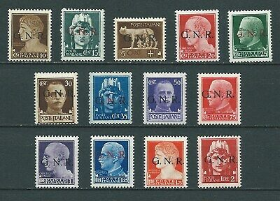 """1944 Rsi """"Imperiale Gnr"""" 13V Mnh Nuovi Extra Lusso**"""