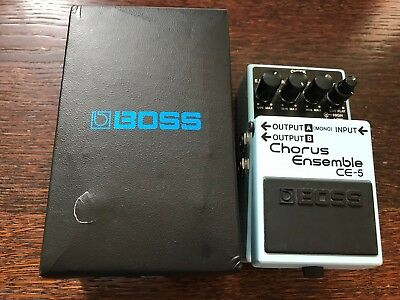 BOSS CE-5 'Chorus Ensemble' Guitar Effects Pedal