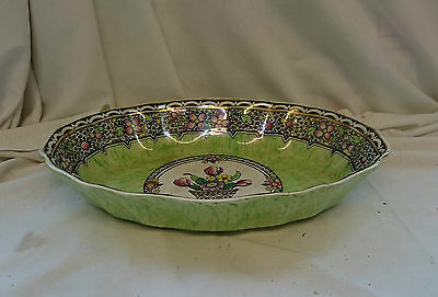 VINTAGE Antique NEW HALL HANLEY BOUMIER WARE Hand Painted BOWL DISH China