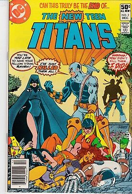 The New Teen Titans #2 (Dec 1980, DC) 1st Appearance Deathstroke