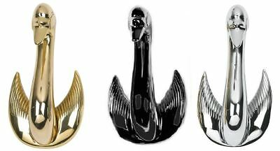 Swan Door Knocker in Three Wonderful Finishes – Door Accessories