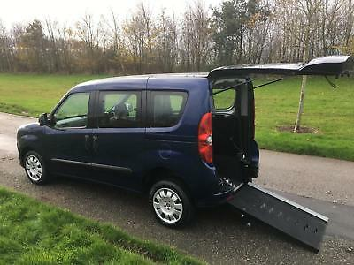 2012 62 Fiat Doblo Multijet 1.6 AUTOMATIC, 12K Wheelchair Accessible Vehicle WAV