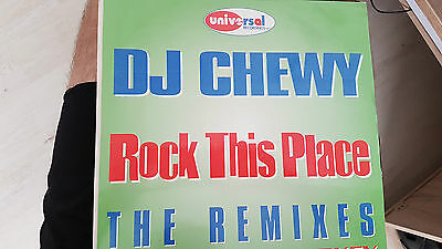 Universal Records - Uni013-Dj Chewy-Rock This Place (Remixes) By Brisk & Sharkey
