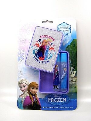 Disney Frozen Sisters Set Eau de Toilette in Glitter Box Roll on Edt 2 x 8 ml