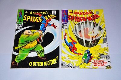 Amazing Spider-Man 60 61 62 63 64 Silver Age Lot