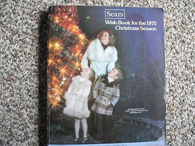 1975 SEARS Wish Book Christmas Catalog-toys, leisure suits, Barbie