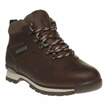 New Mens Timberland Brown Splitrock 2 Leather Boots Lace Up