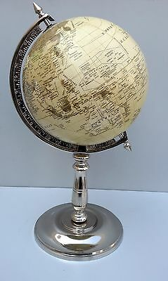 Antique Look Globe on Stand Lovely Gift for Dad Husband Brother Home Decor