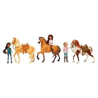 Doll Spirit Riding Free Exclusive 3 Horse and all their friends Boxed Set New