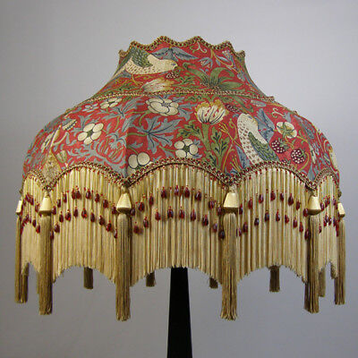 Victorian Vintage Standard  Beaded Lampshade **REDUCED FROM £344 TO £327**