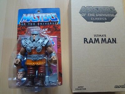 Masters of the Universe Ultimate - Ram Man - OVP