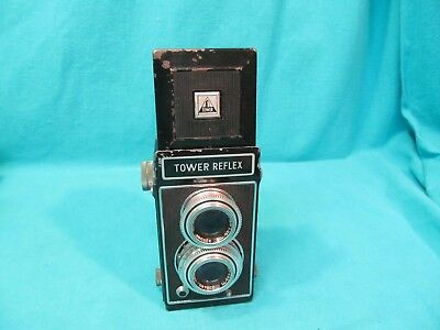 VINTAGE TOWER REFLEX TLR CAMERA WESTAR 75mm f3.5 MADE IN GERMANY