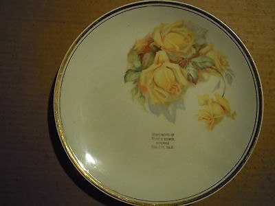 Yuba City California Compliments Plate Starr & Bremmer Hardware
