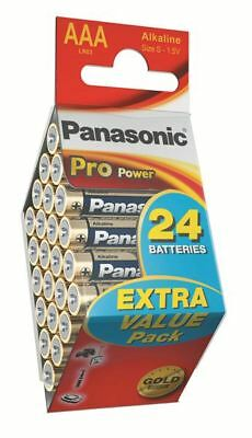 Panasonic Micro Pro Power LR03PPG (AAA) PowerTower 24er-Pack