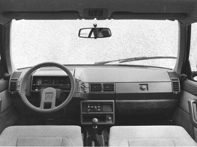 1982 Citroen BX 16 TRS Interior ORIGINAL Factory Photo oub9712
