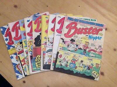 Buster And Nipper Comics Dated 1987