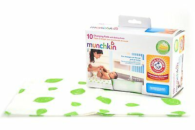 Munchkin Arm and Hammer Disposable Changing Pad 10 Count - NEW