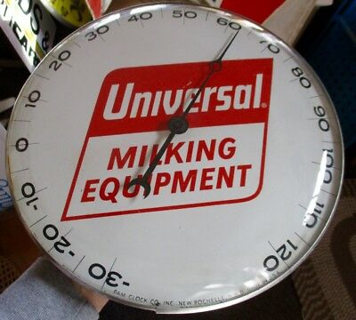 """RARE Vintage UNIVERSAL MILKING EQUIPMENT """"PAM"""" THERMOMETER....NICE ONE!"""
